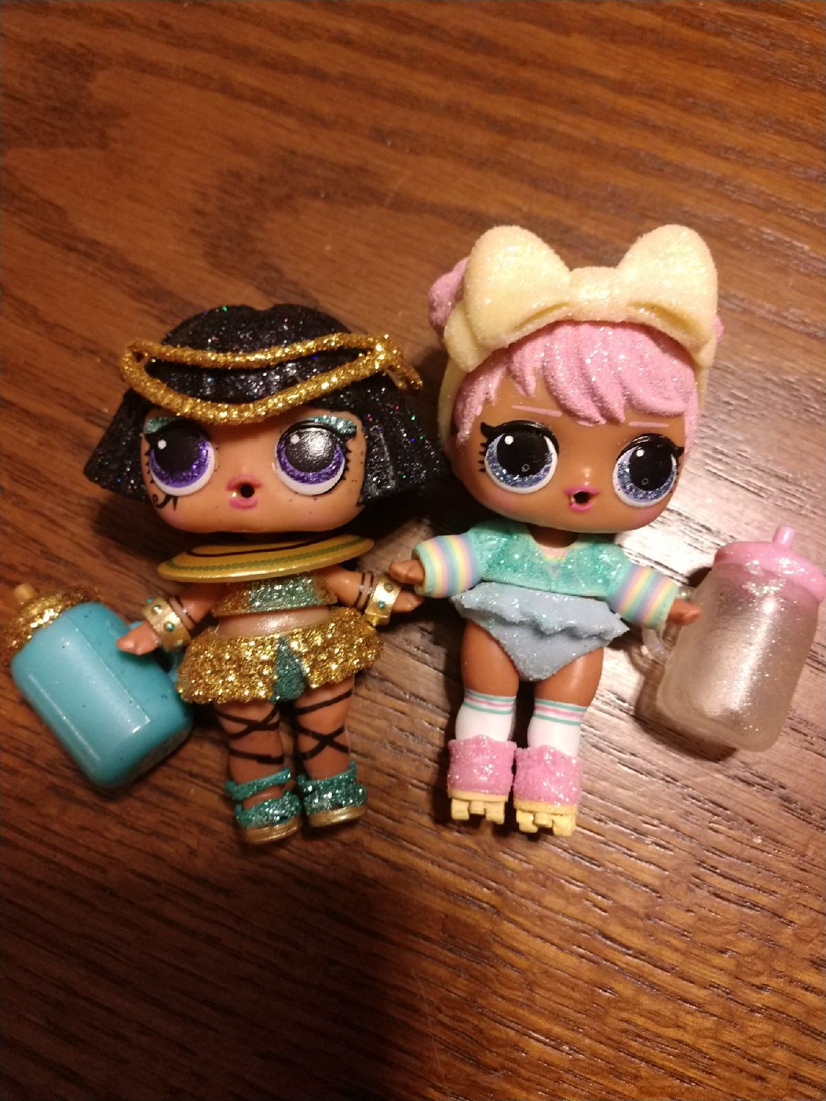 LOL Surprise Sleepover Snuggle Babe Holiday Bling Sparkle Series Doll Toys Gift