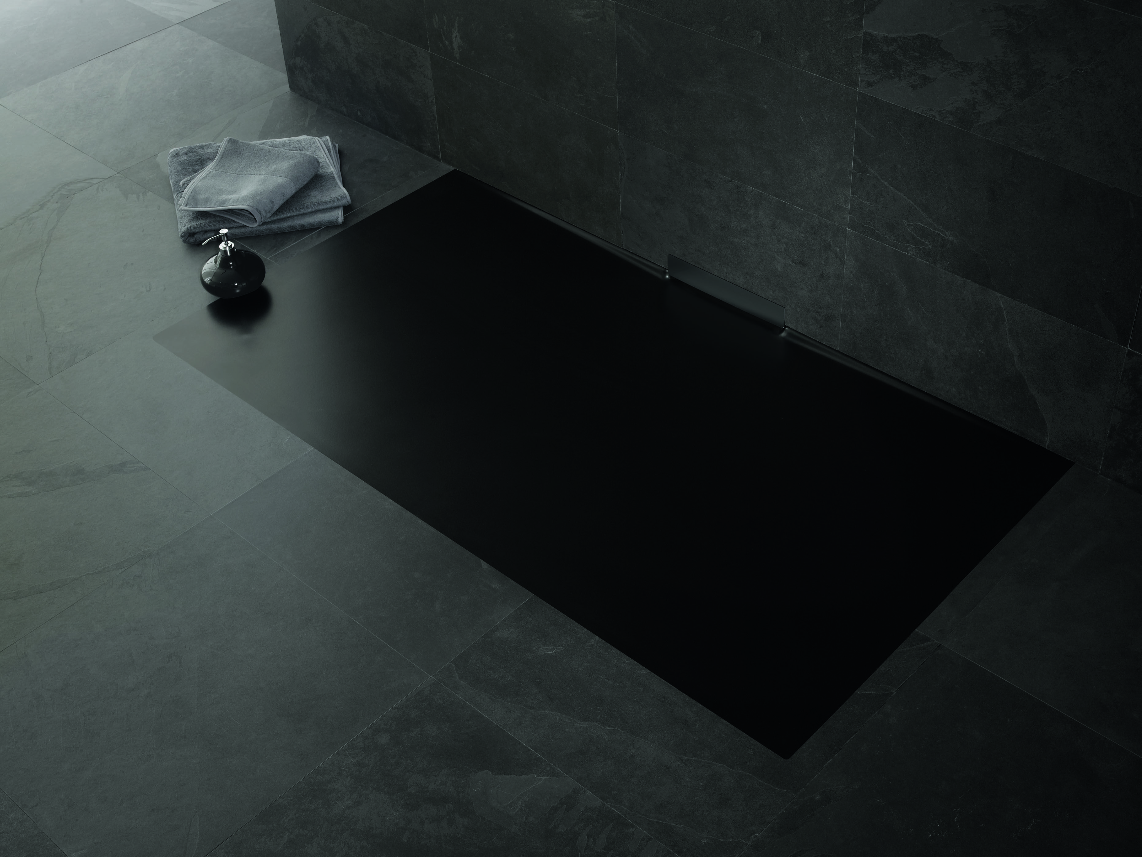 With 13 Different Dimensions The New Shower Surface Xetis Blends Easily With Any Floor The Hidden Wall Outlet Sets