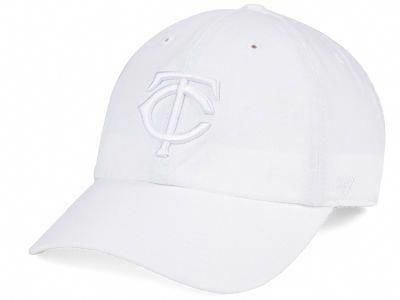the latest 353a8 13cec ... coupon code for minnesota twins 47 mlb white white 47 clean up cap lids  mlbcom minnesotatwinsbaseball