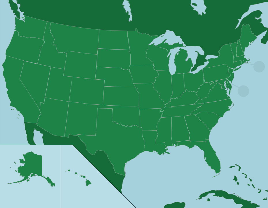The U.S.: 50 States - Map Quiz Game - An interactive United ...
