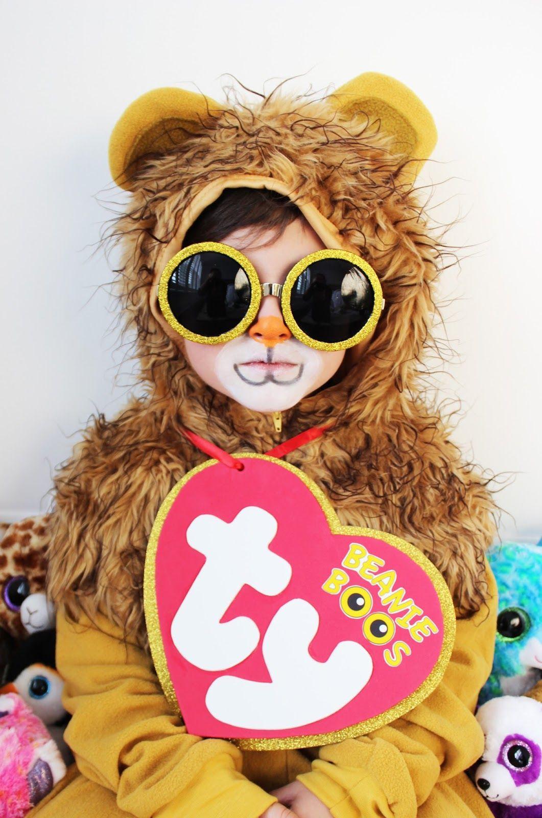 diy halloween costume for littles beanie boo