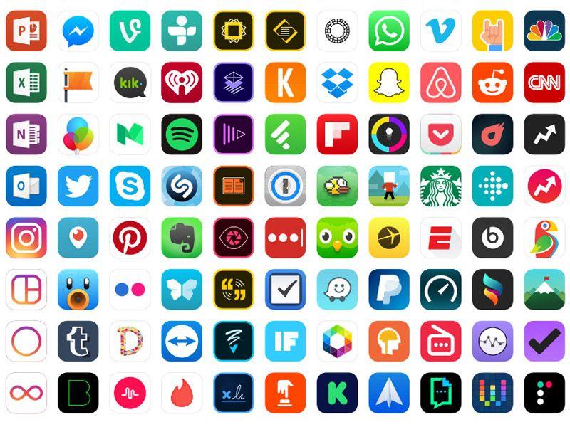Designlab Unit 4 Iconography for web Icons Dating