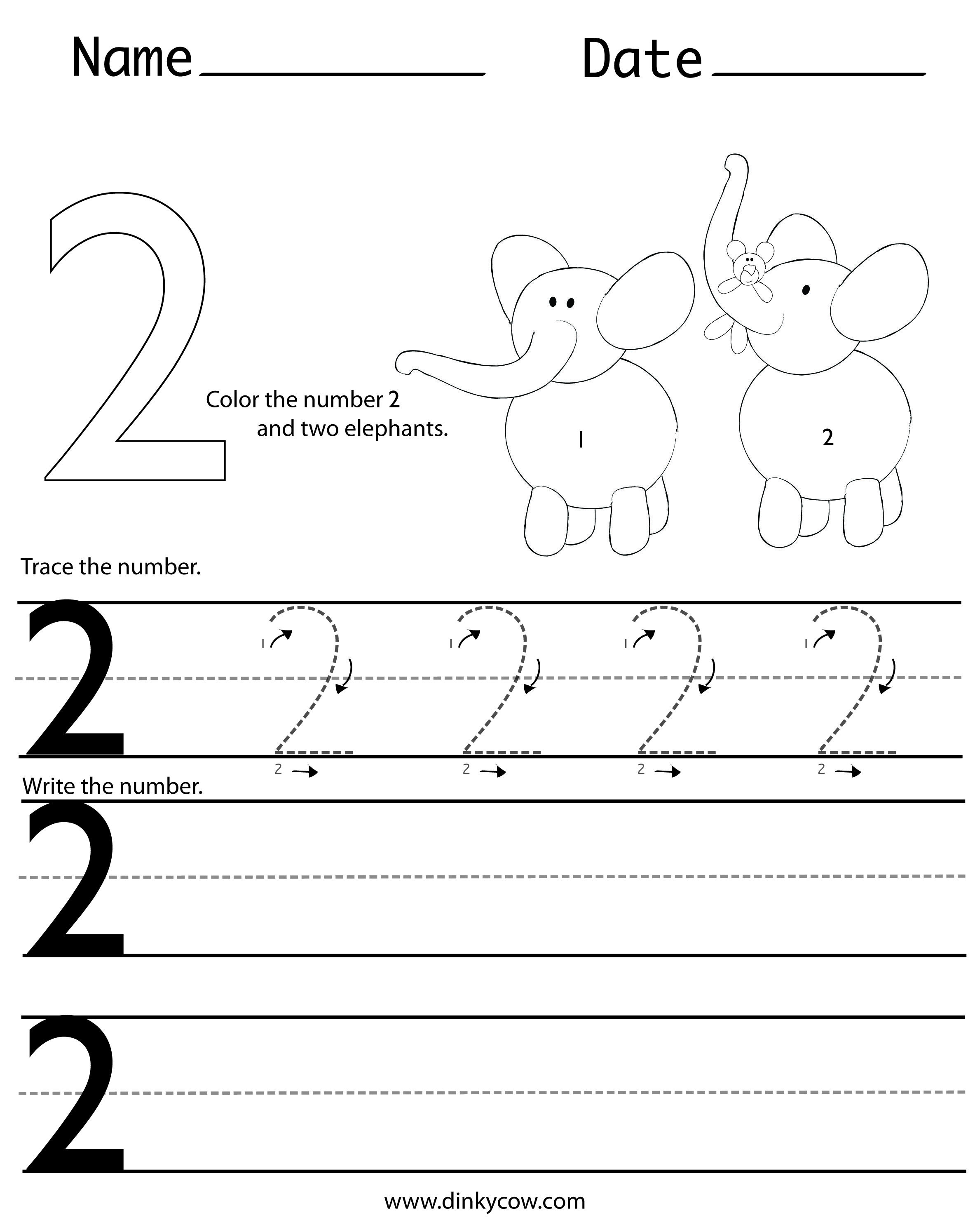 worksheet Number Handwriting Worksheets writing number 2 jpg daphne learning pinterest numbers worksheets printable that you can use to train your childrens skills