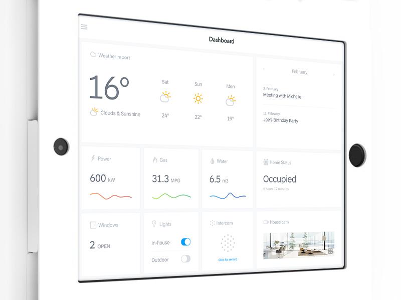 30 Inspiring examples of smart home app – Muzli -Design Inspiration ...