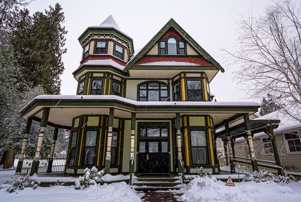 Antrim (Victorian Style) Building - Fort Langley, BC ...
