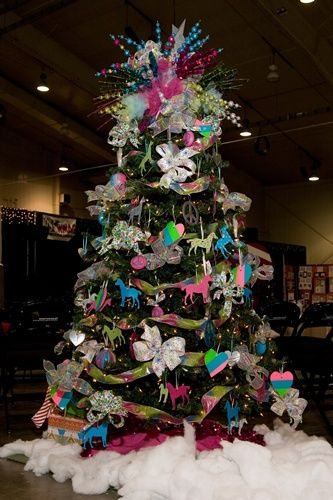 Decorate A Tree For Brenner S Children Hospital Festival Of Trees Auction Hospital Decoration Christmas Tree Decorations Christmas Tree