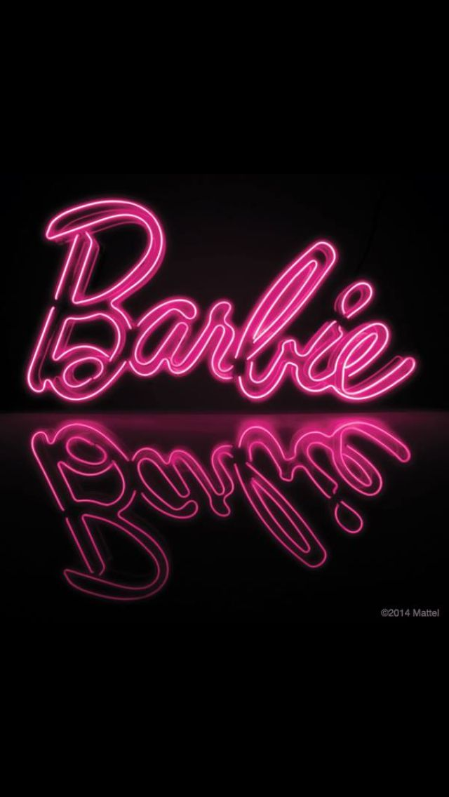 Ooooh! Neon signs, Barbie room, Barbie