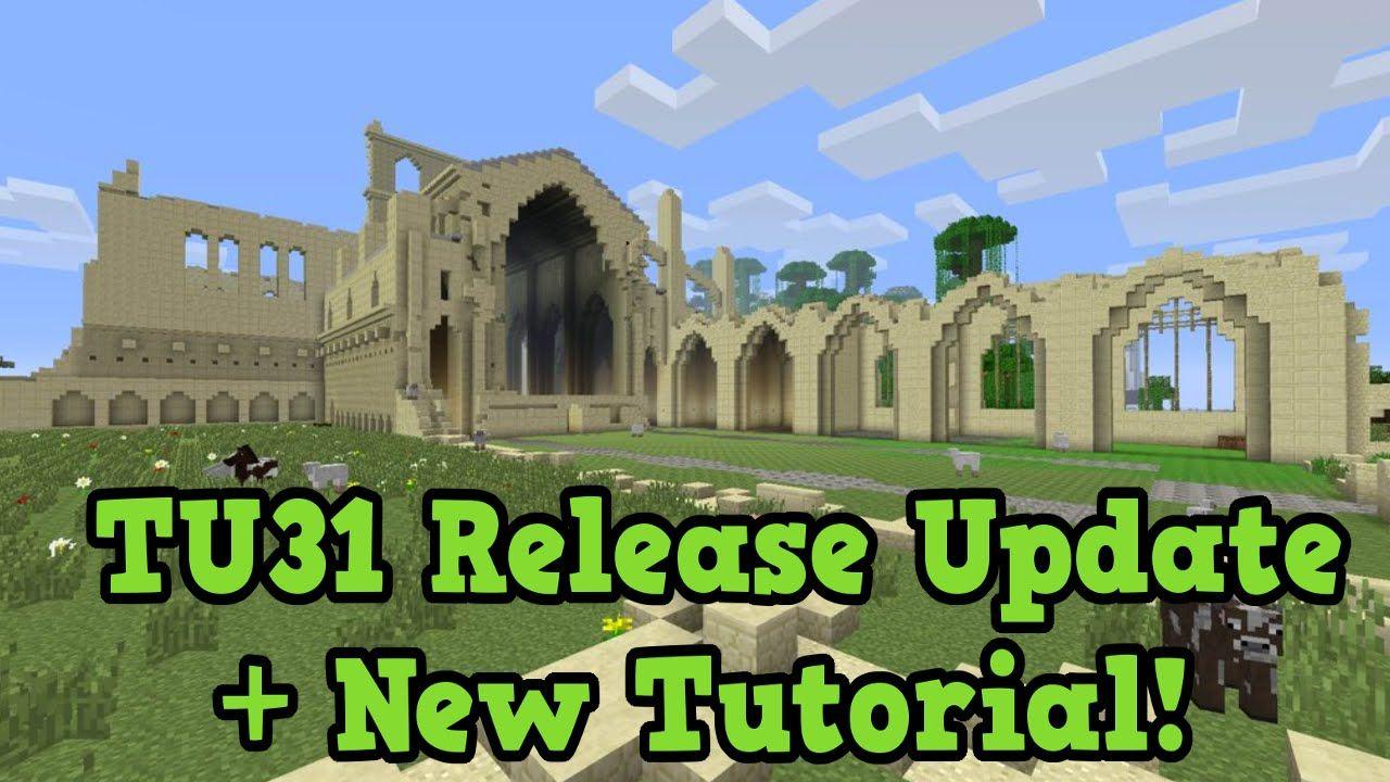 Minecraft Xbox 11 / PS11 - TU111 Release Update + New Tutorial