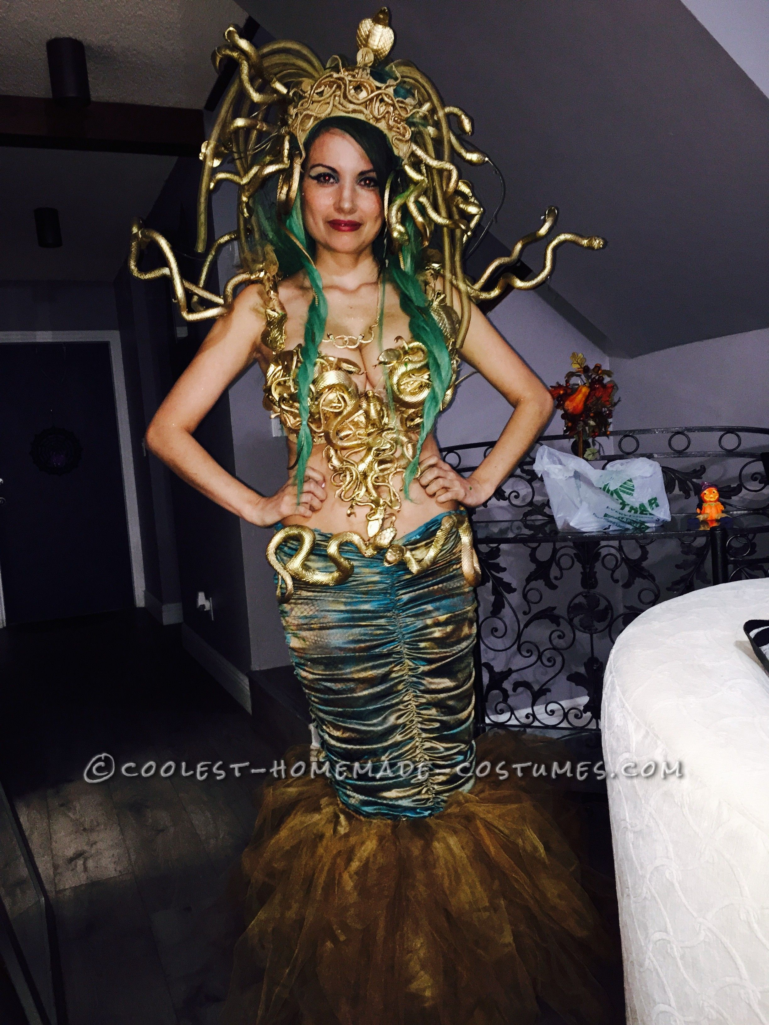 medusa costumes for halloween & over the weekend the x factor winner