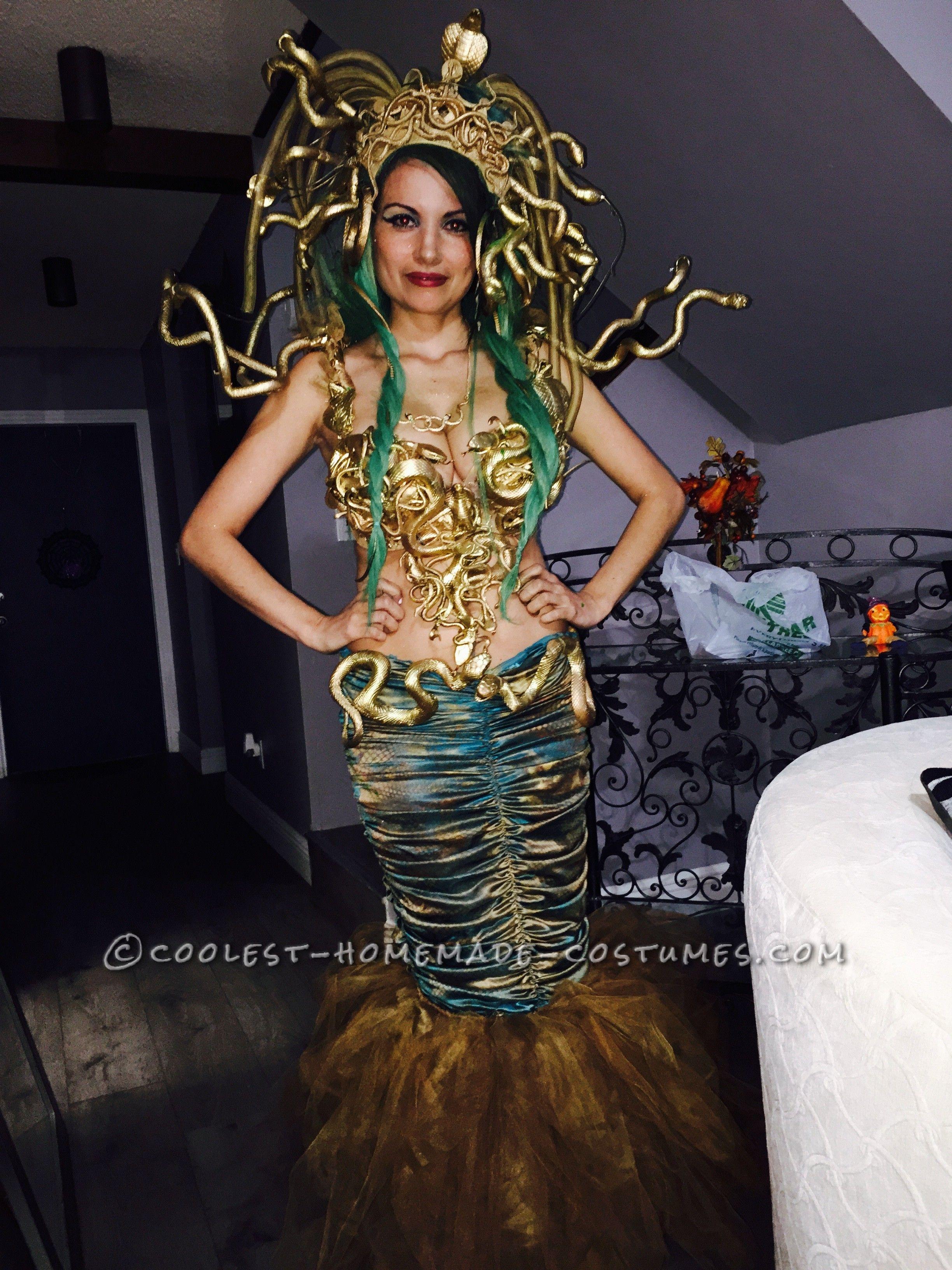Sexy mudusa costume