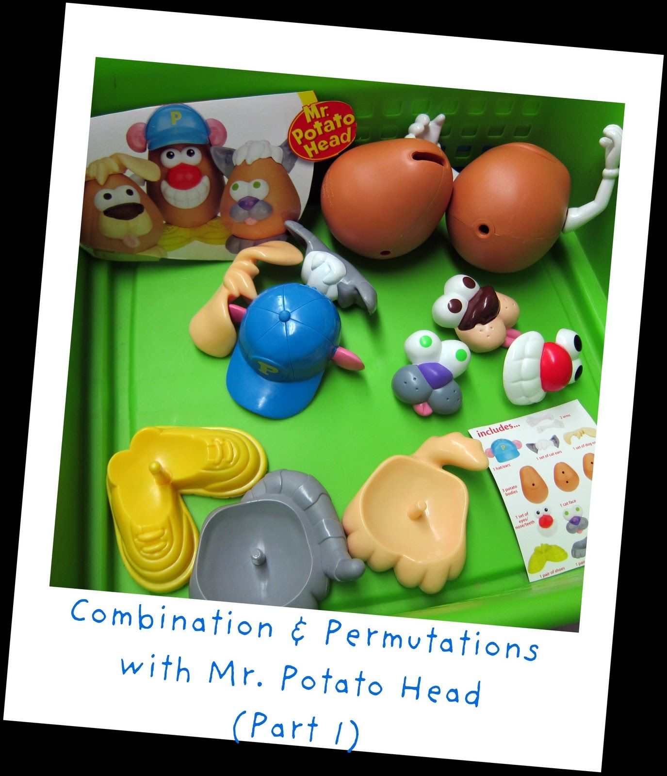 A Middle School Survival Guide Mr Potato Head In Math