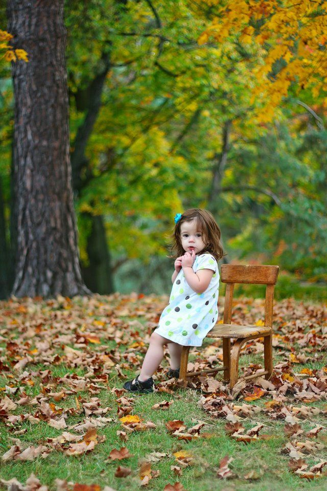 Fall Photo Idea Love Think Our Childrens Rocking Chair