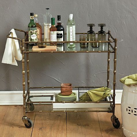 Ballard Designs Bar Cart
