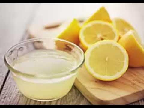 L'eau avec le jeûne au citron: c'est ce que les gens qui