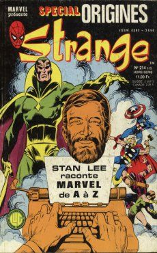 Couverture de Strange (Spécial Origines) -214bis- Strange 214 bis