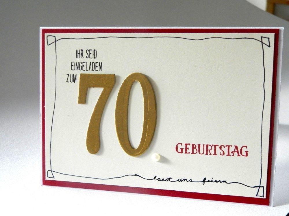 Einladung Zum 70 Geburtstag Mit Bildern Einladung 70