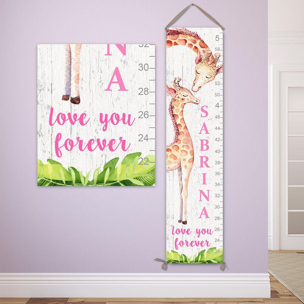 Giraffe growth chart personalized canvas growth chart giraffe giraffe growth chart personalized canvas growth chart giraffe giraffe gift giraffe print nvjuhfo Gallery