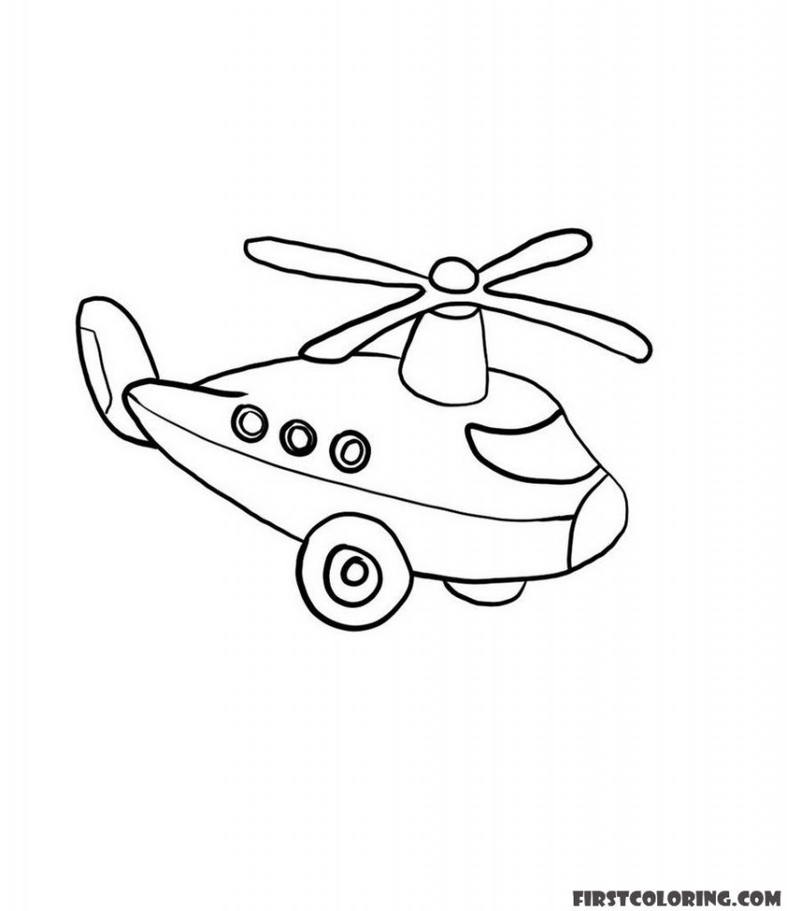 Helicopter Coloring Pages First Coloring For Our Children In 2021 Coloring Pages Coloring Pages For Boys Helicopter [ 1024 x 885 Pixel ]