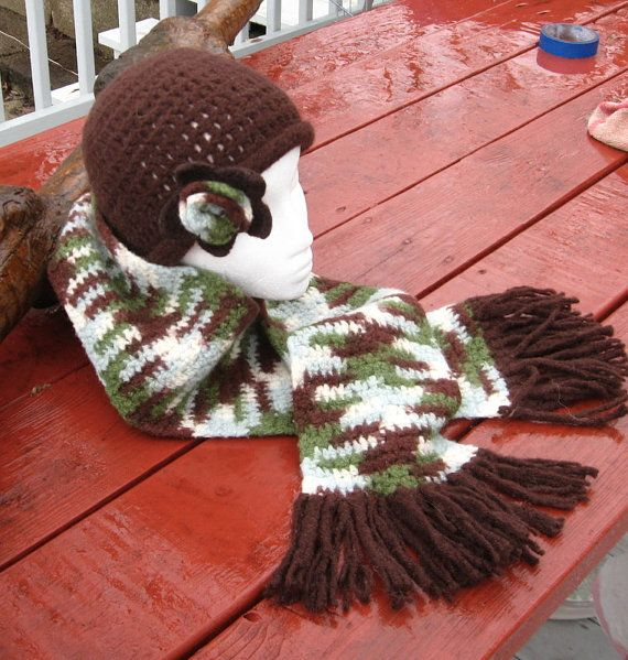 Womens Wool hat and scarf by mlyrec2010 on Etsy, $30.00