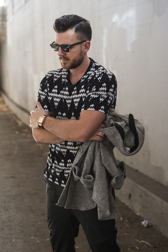 Ami By Alexandre Matiussi Zig Zag Tee Boy Pinterest Men 39 S Fashion Fashion And Man Style