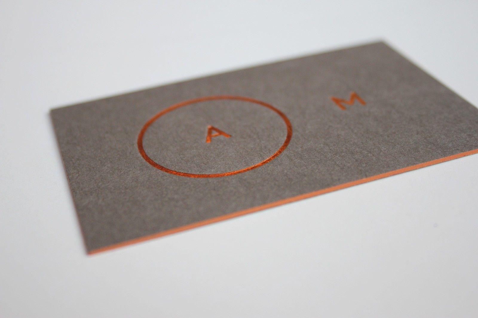 Impressive Hot Foil Stamped Business Cards You Should See | Business ...