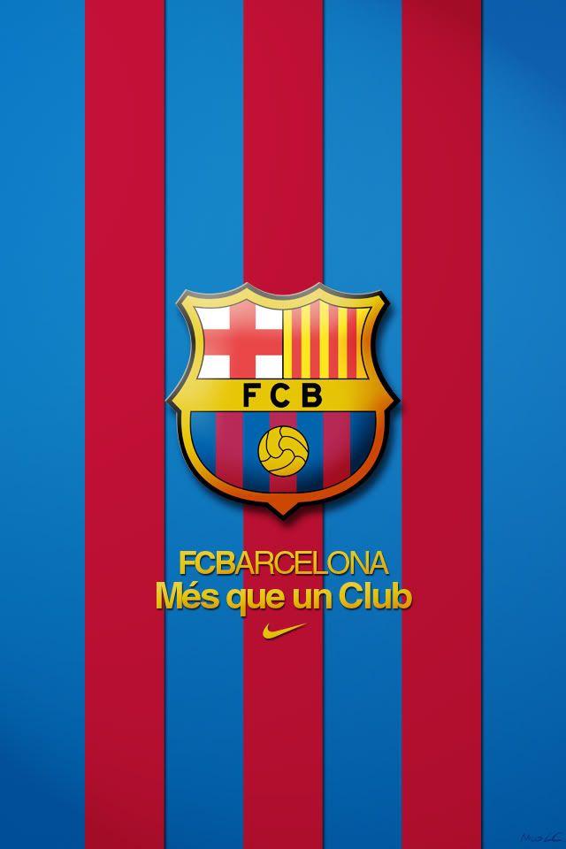 Wallpapers Barcelona Para Iphone Fcbarcelona Home Screen Y Menu 640x960 Barcelona Olahraga Sepak Bola