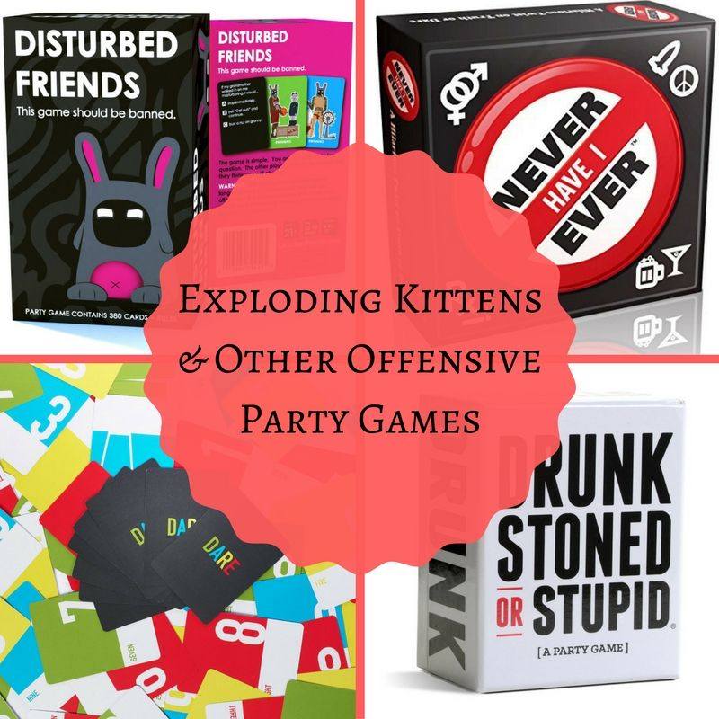 Exploding kittens and other offensive games exploding