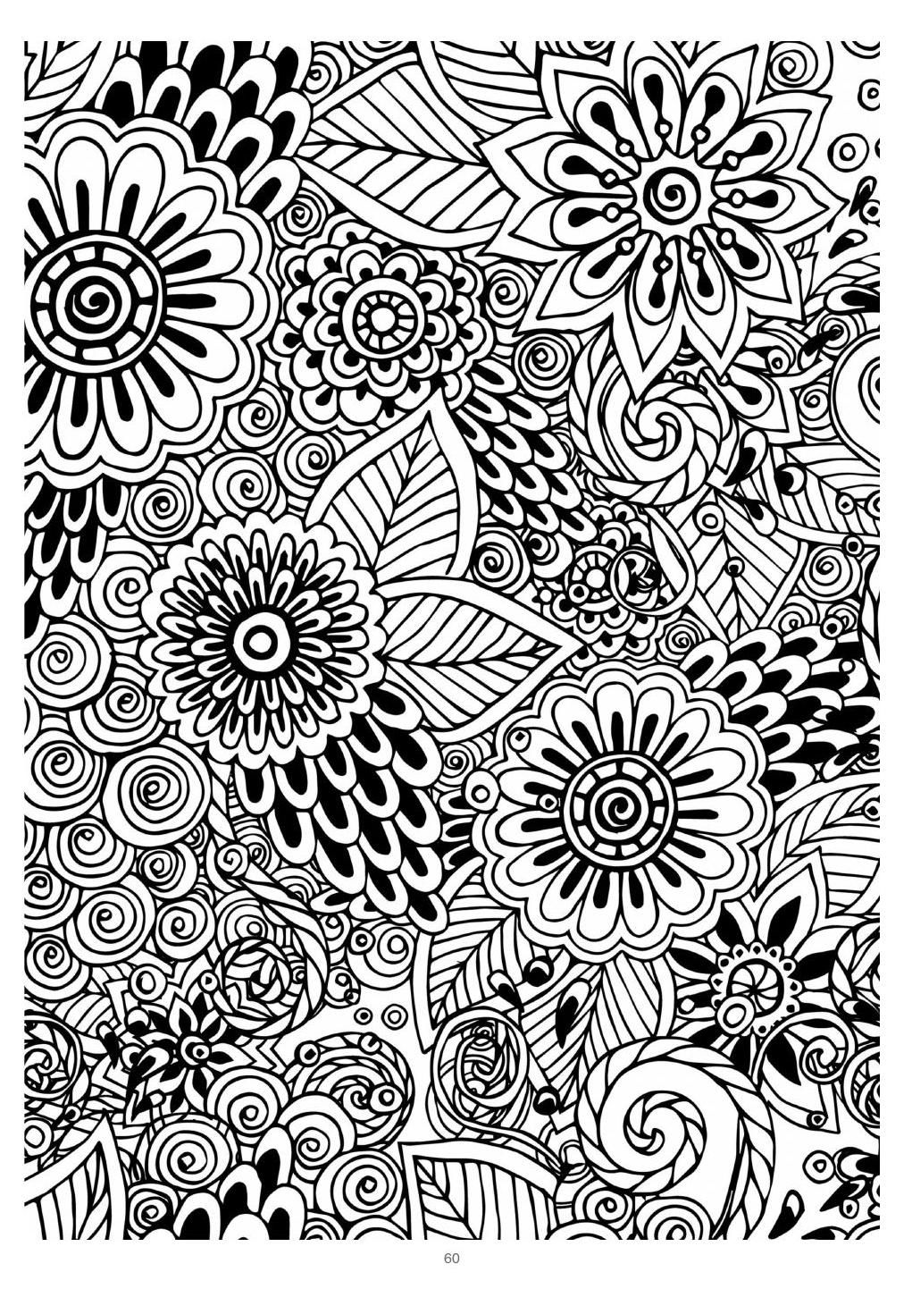Mind Massage Colouring Book For Adults Coloring Books Abstract Canvas Painting Coloring Pages
