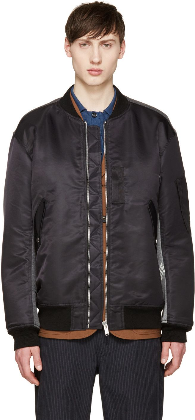 Black Lys Bomber Jacket | Products, Bomber jackets and Mens products