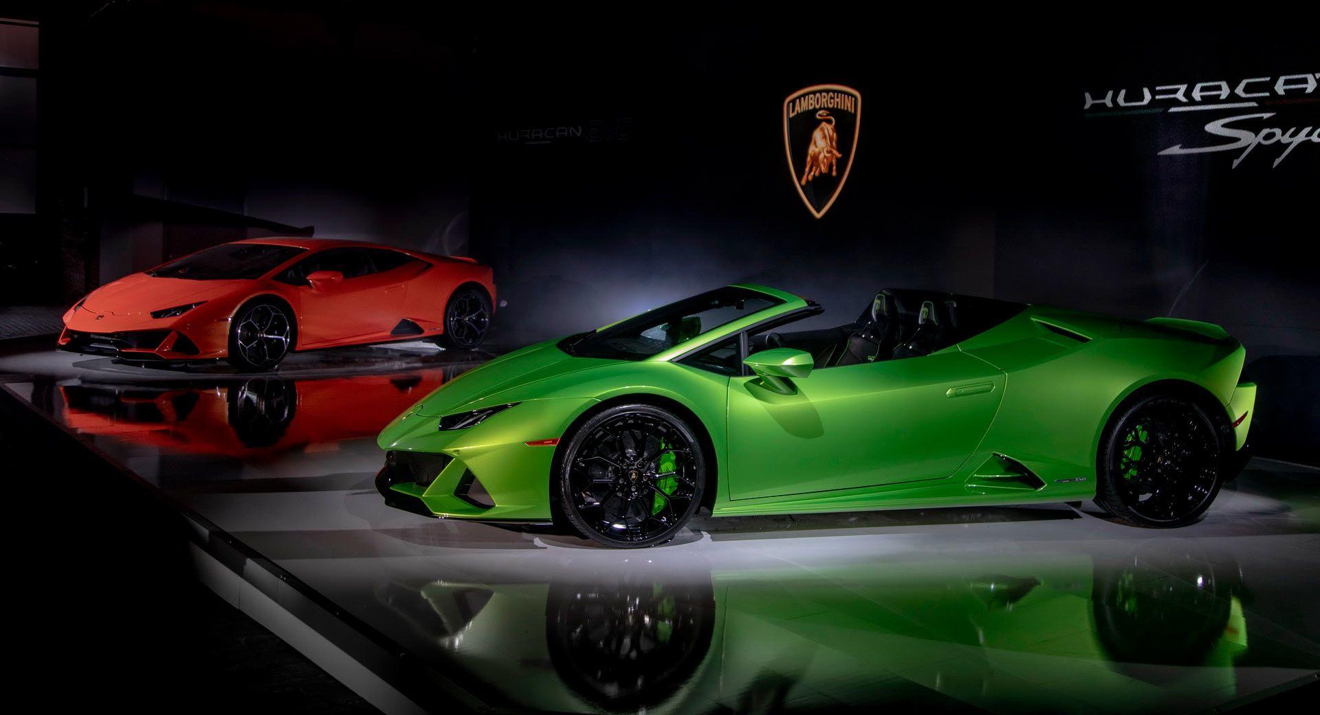 2020 Lamborghini Huracan Evo Arrives In Usa Priced From