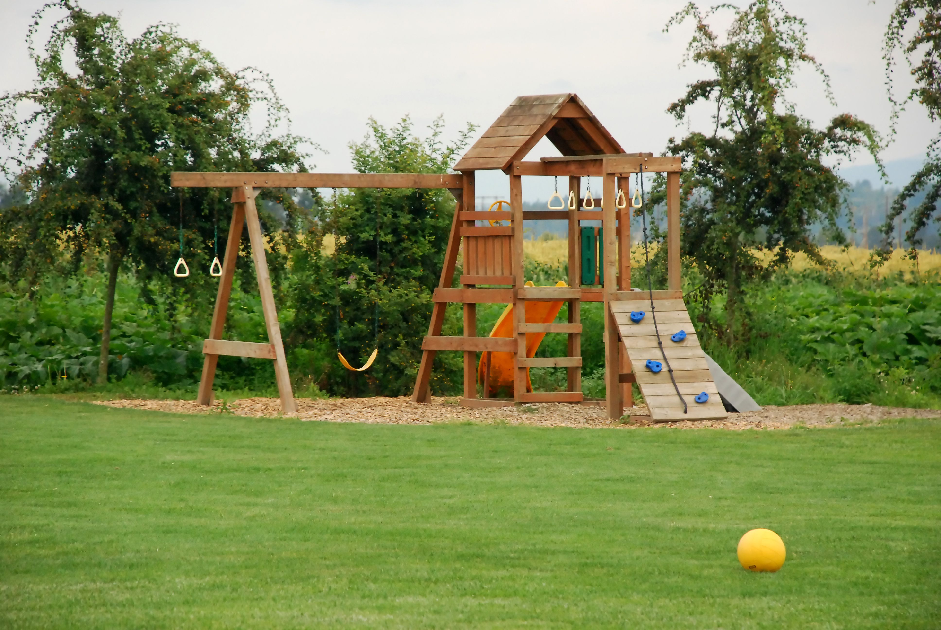 Backyard Playground Best Ground Cover Options Play Area Backyard Backyard Play Playground Flooring Outdoor