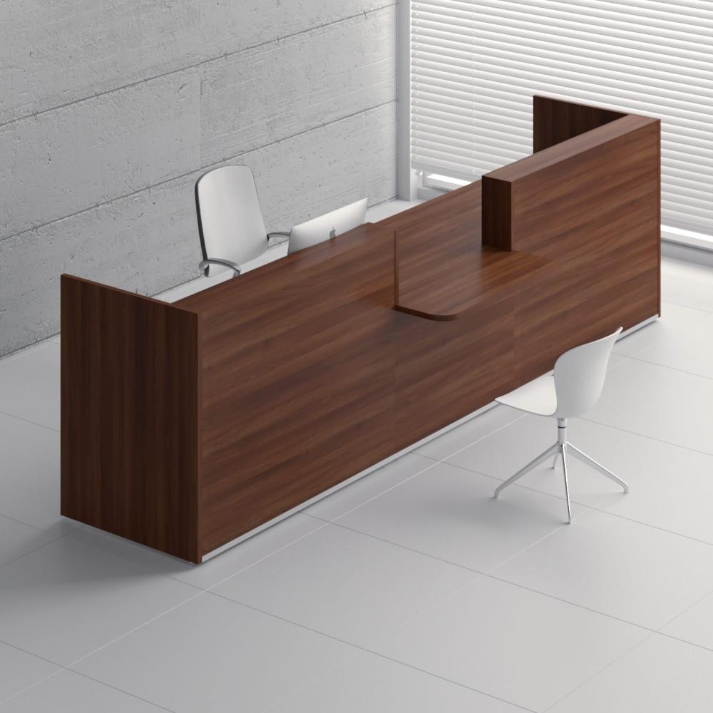 Tera Tra135 Reception Desk Ada Compilance Wood Reception Desk Office Furniture Modern Modern Reception Desk