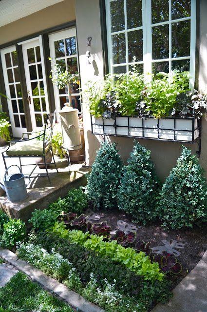 kitchen garden of herbs edibles right off the kitchen garden flower beds small herb gardens on outdoor kitchen herb garden id=46718