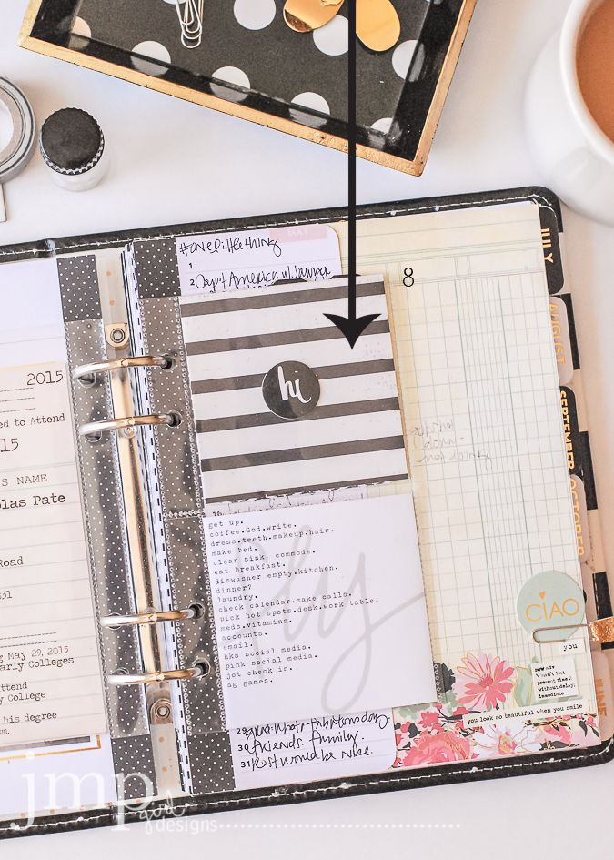 Jamie Pate Anatomy Of A Memory Planner Heidi Swapp Planners And
