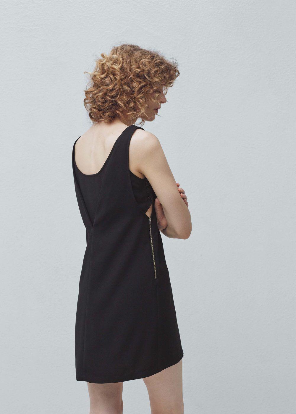 7be06e55c7 Vestido aberturas laterales - Mujer   Vestidos