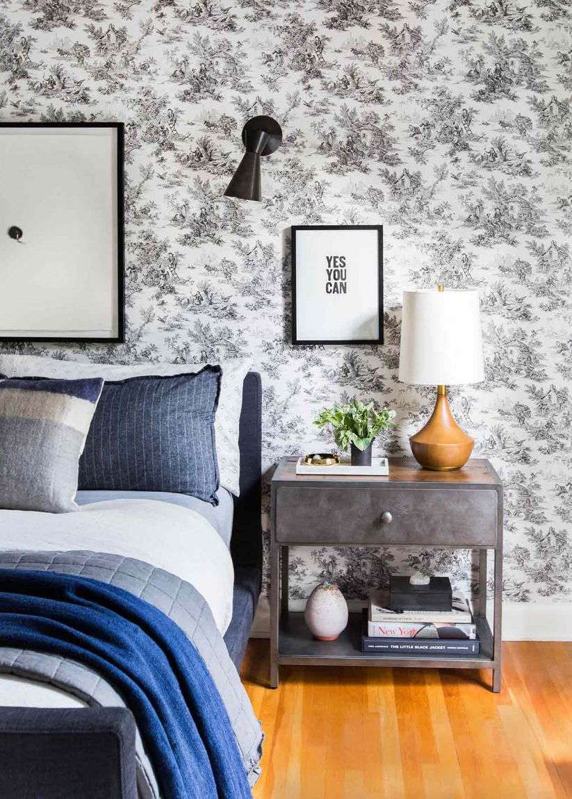 Pin By Joanna Gott On General Merchandising Ideas Traditional Bedroom Design Design Living Room Wallpaper Wallpaper Design For Bedroom