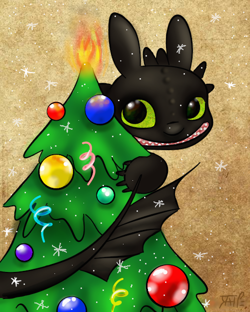 Oh Toothless Tree, Oh Toothless Tree, why are you hiding ...