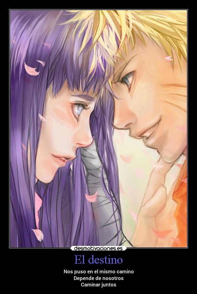Carteles Destino Destino Desmotivaciones Naruto Amor Frases