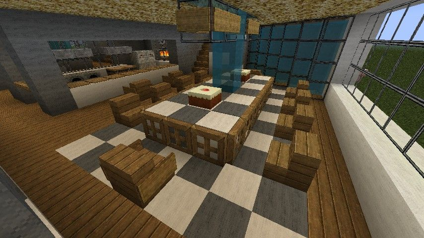 Minecraft Kitchen Table