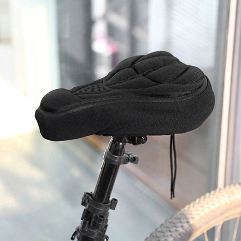 Bicycle Seat Cover Muscle Soft Foam Comfortable Cycling Bike Accessories Saddle