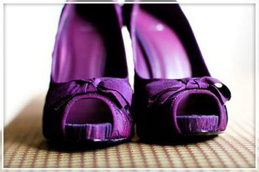Purple Wedding Shoes Purple Wedding Shoes Fun Wedding Shoes