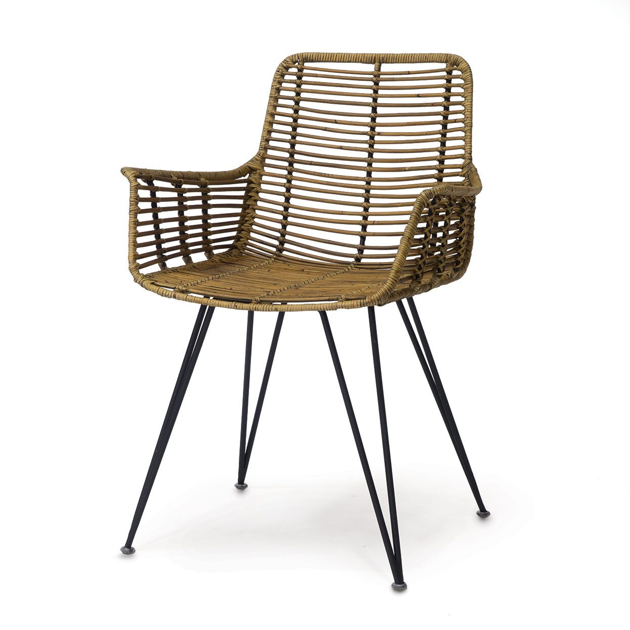 HERMOSA ARM CHAIR, NATURAL | Furniture / Chairs | Pinterest | Dining ...