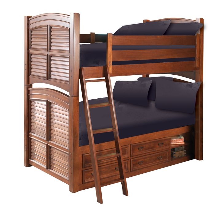 Pirate Bunk Bed with Storage | Pirate Bedroom Furniture | Pinterest ...