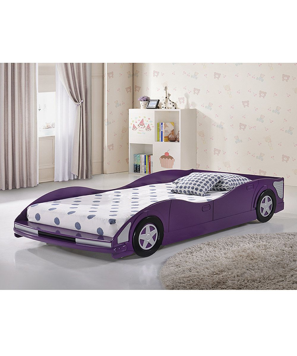 Racecar Bed Zulilyfinds With Images Car Bed Twin Car Bed