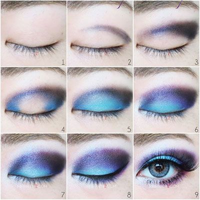 Disney Little Mermaid Makeup Tutorials, wie man Schönheit aussieht   – Beauty Tips