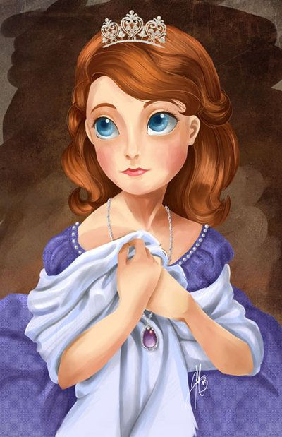 Sofia the First of Enchancia by LadyAmaltea on DeviantArt