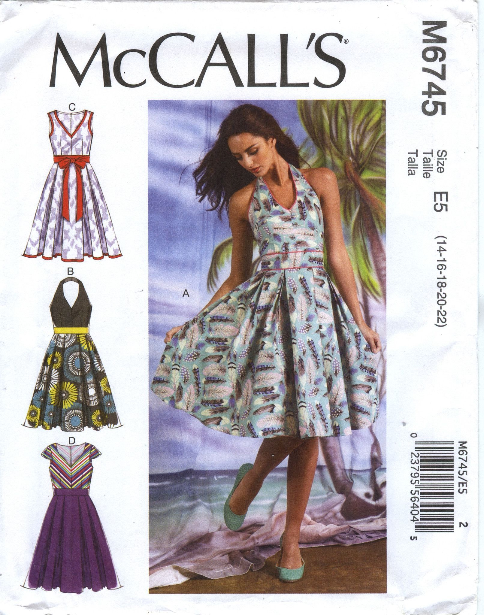 2767155a95 Misses  Dresses Sewing Pattern.