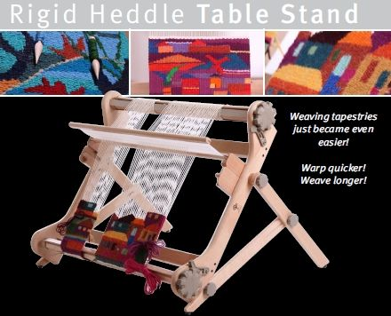 Ashford Rigid Heddle Loom Stand Weaving Knitting And Crochet