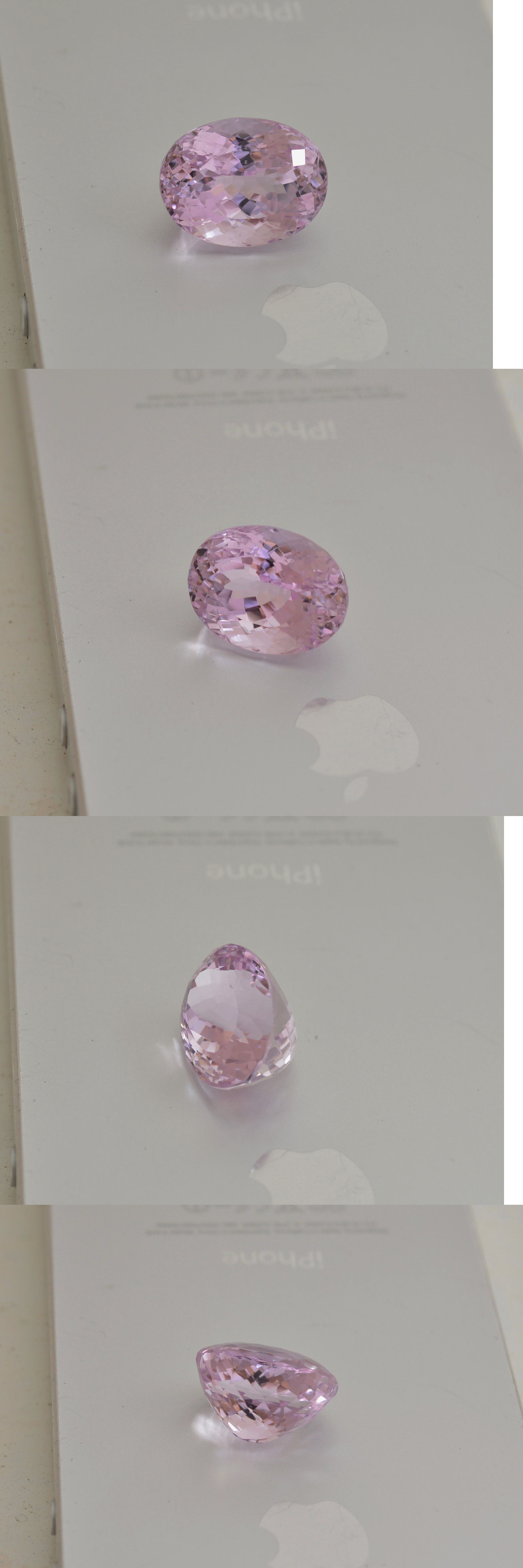Kunzite 110798: 18.8 Cts Super Lustrous Kunzite Gemstone @ Kunar, Afghanistan -> BUY IT NOW ONLY: $190 on eBay!
