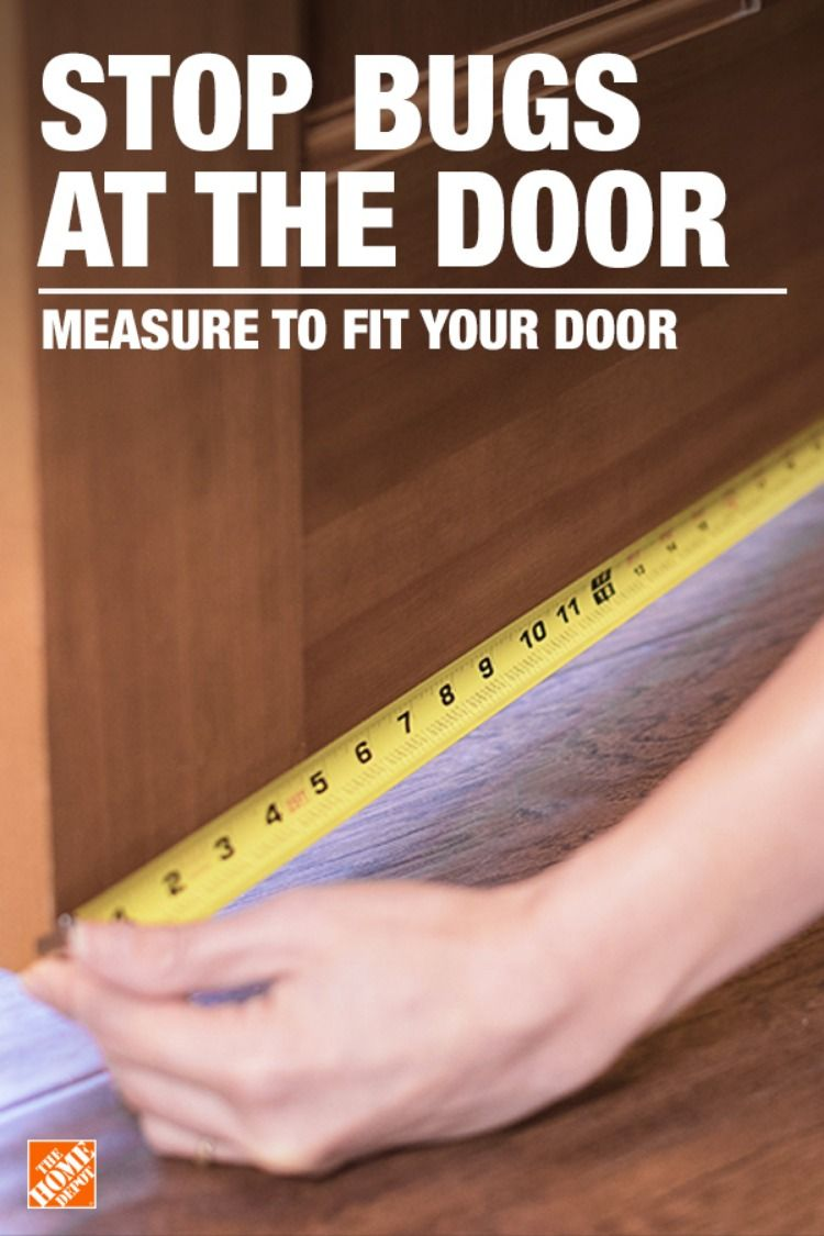 Installing A Deny Door Sweep Is An Easy Way To Keep Your Home Free Of Bugs In A Few Quick Steps You Ll Have An Extra Line Of Def Doors Door Sweep